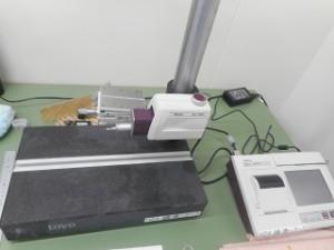 粗さ測定器